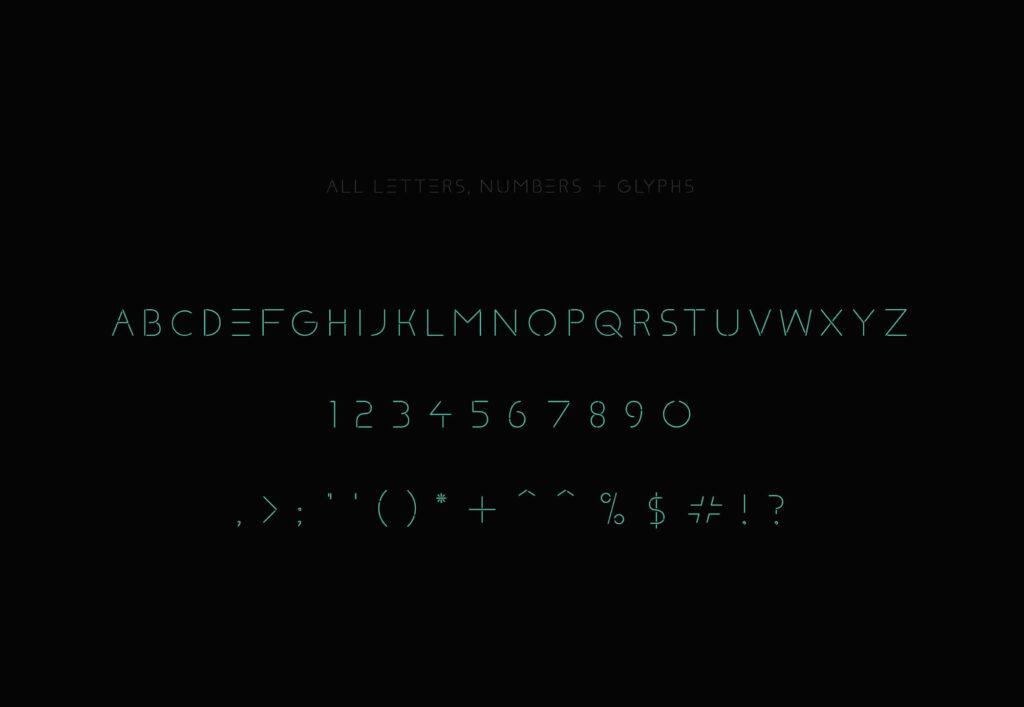 Free Klaxons Neon Style Font1