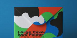 Free Large Folder Envelope Mockup PSD Template1