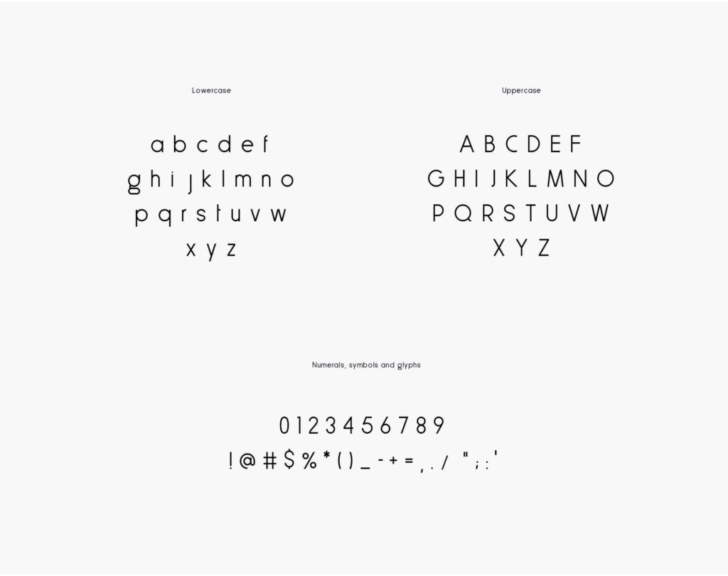 Free Less Sans Minimal Typeface3
