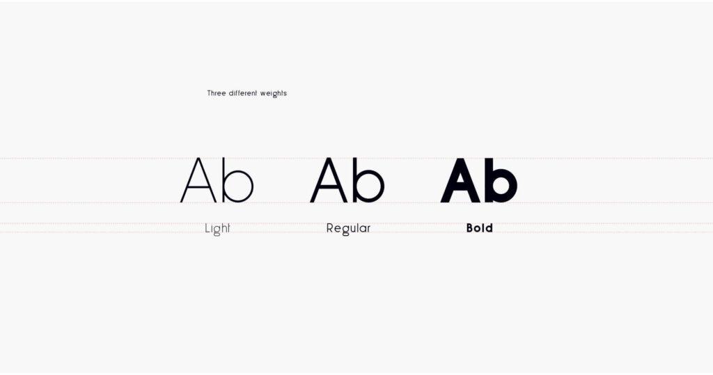 Free Less Sans Minimal Typeface4