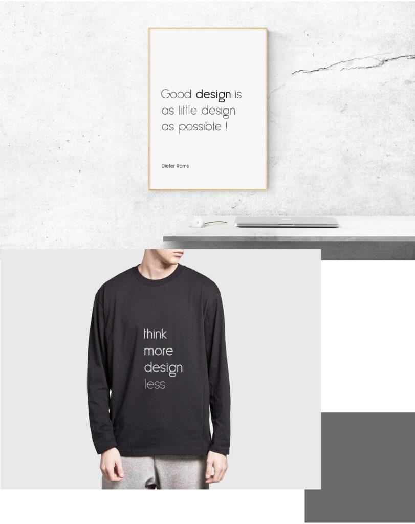 Free Less Sans Minimal Typeface5