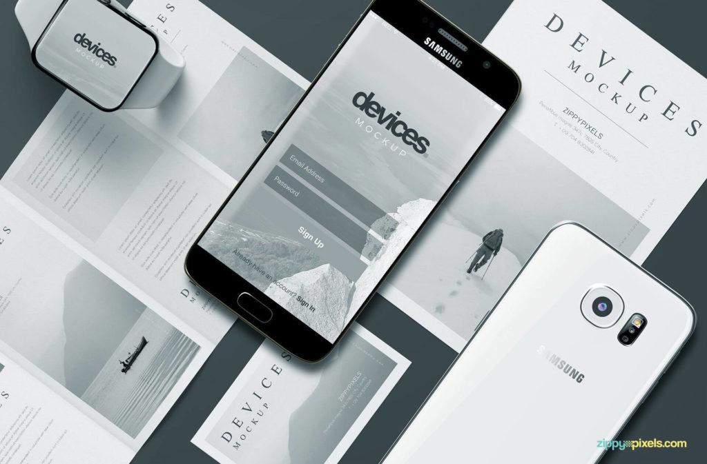 Free Mobile-app-mockup