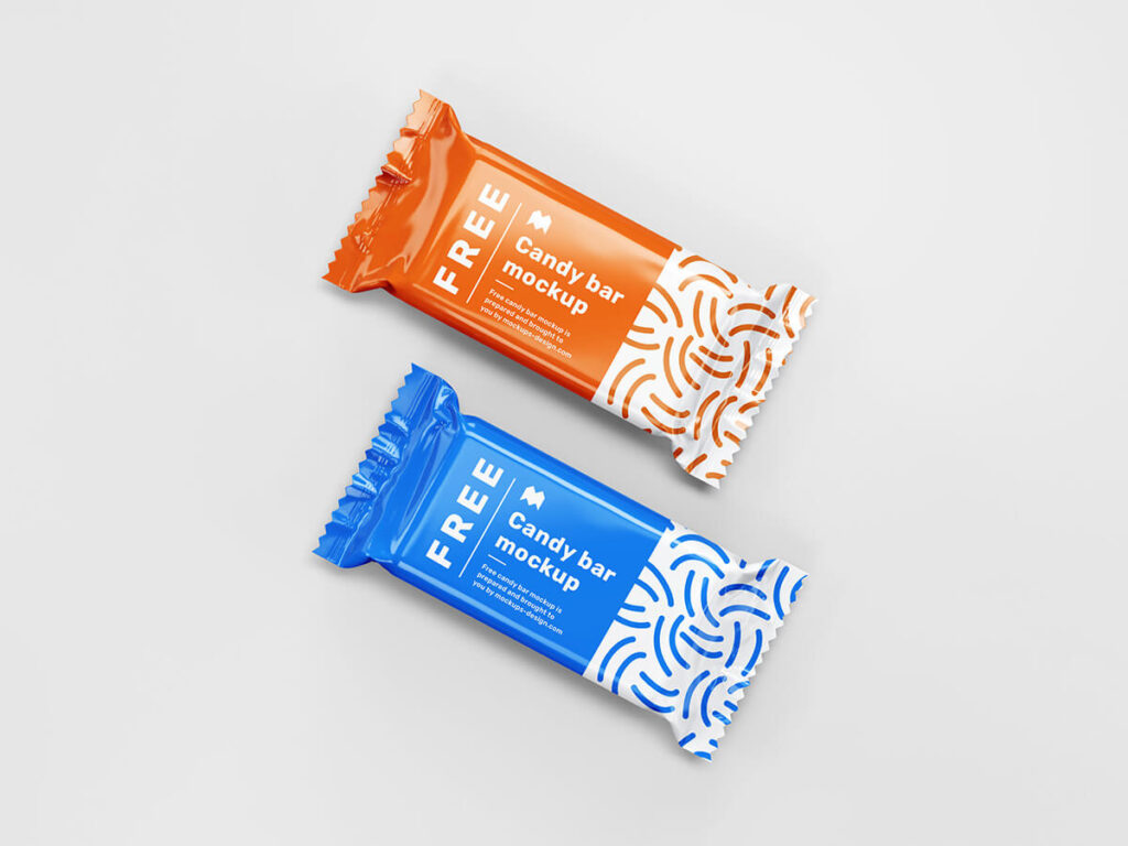 Free Ordinary Candy Bar Mockup PSD Template2
