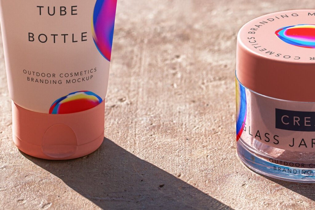 Free Outdoor Cosmetic Mockup Set PSD Template5