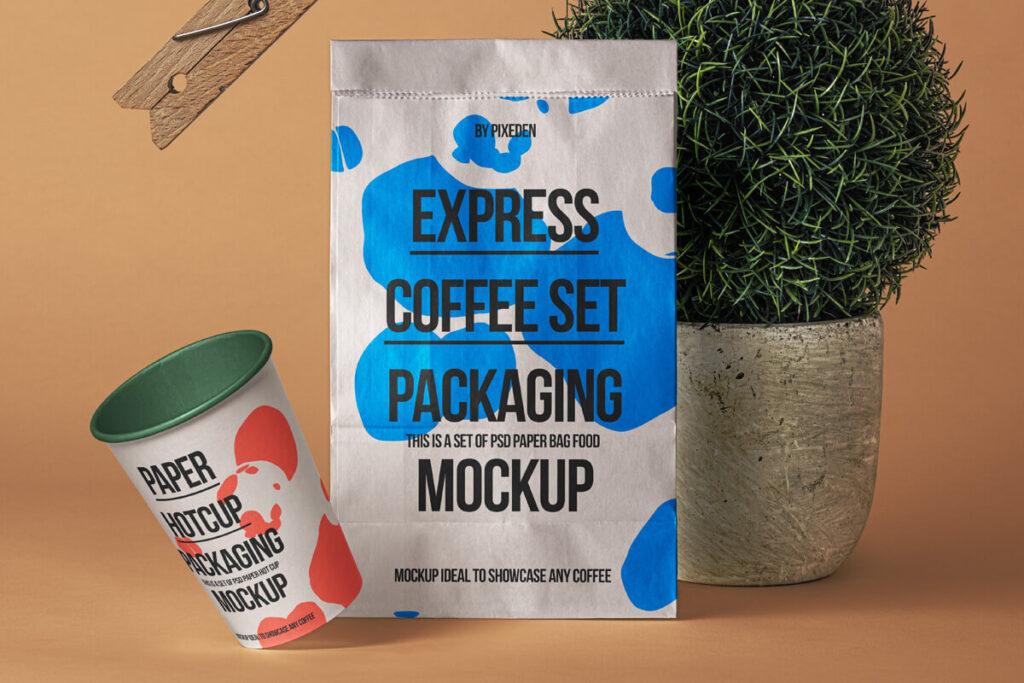 Free Paper Bag Mockup Showcase PSD Template1