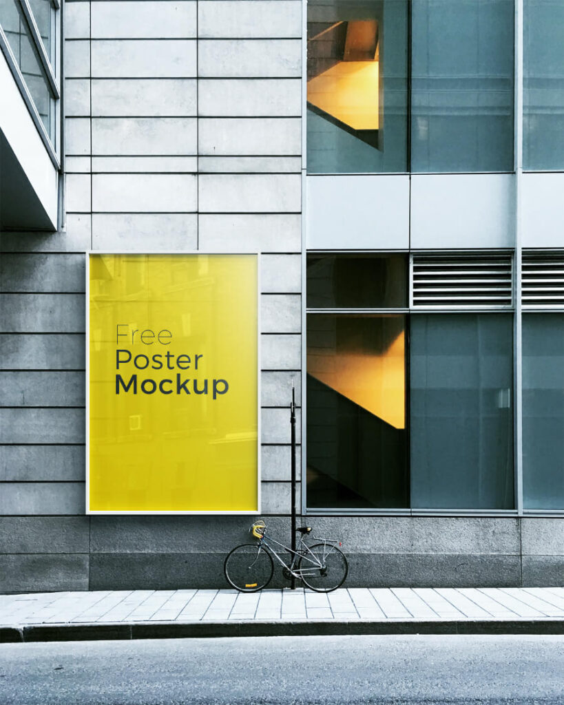 Free Poster And Billboard Mockups PSD Templates1