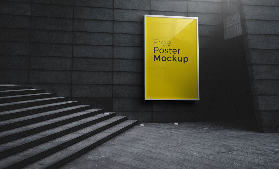 Free Poster And Billboard Mockups PSD Templates2