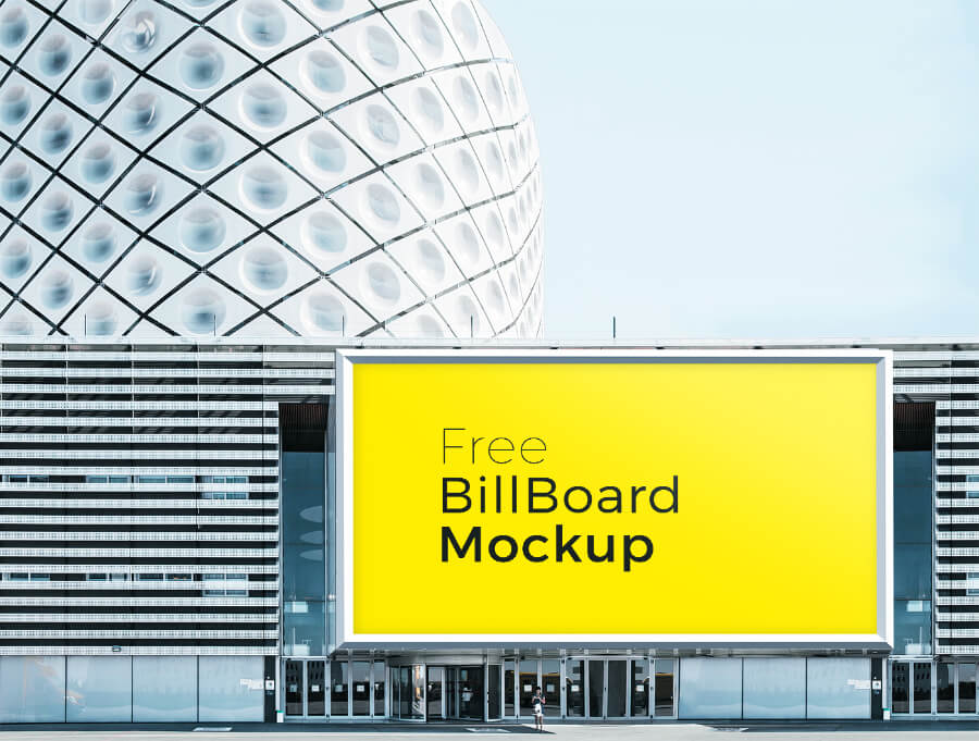 Free Poster And Billboard Mockups PSD Templates5