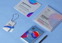 Free Product Stationery Mockup Set PSD Template 1