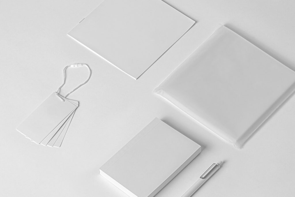 Free Product Stationery Mockup Set PSD Template 4