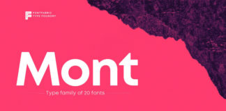Free Realistic Mont Font1