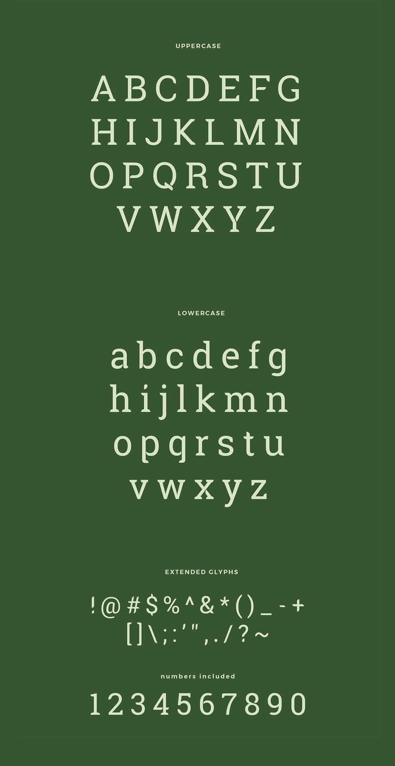 Free Rounded Robika Serif Typeface2