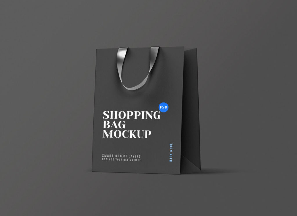 Free Shopping Bag Mockup PSD Template1