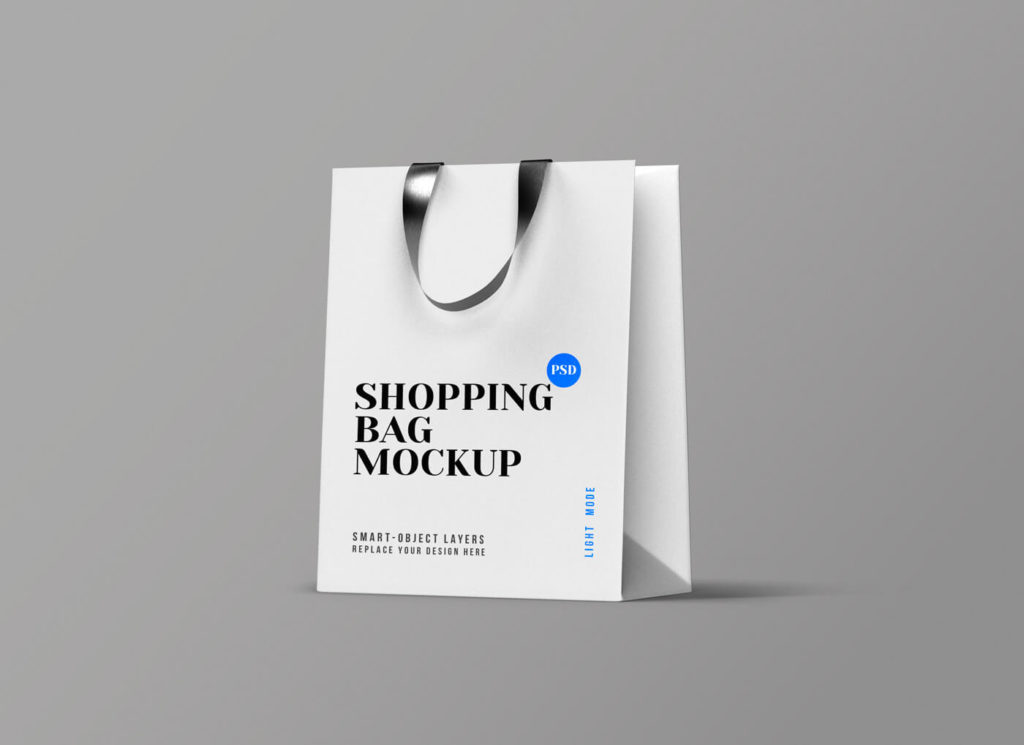 Free Shopping Bag Mockup PSD Template2