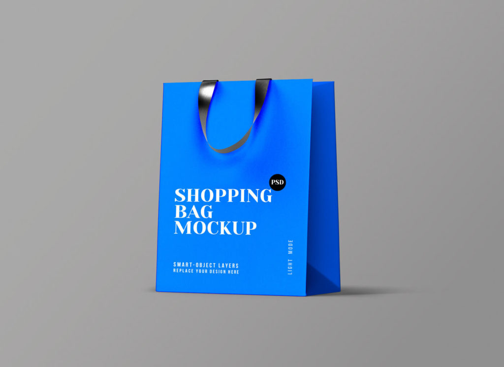 Free Shopping Bag Mockup PSD Template3