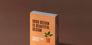 Free Slide Product Box Mockup PSD Template1