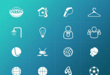 Free Sport Related Vector Icons Pack