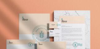 Free Stationery Branding Mockup PSD Template