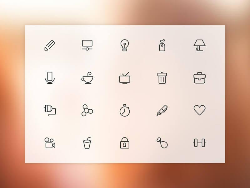 Free Stroki 20 Free Vector Line Icons