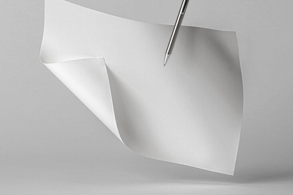 Free Stunning Brand Paper Mockup Landscape PSD Template6