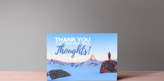Free Thank You Notes Card Mockup PSD Template1