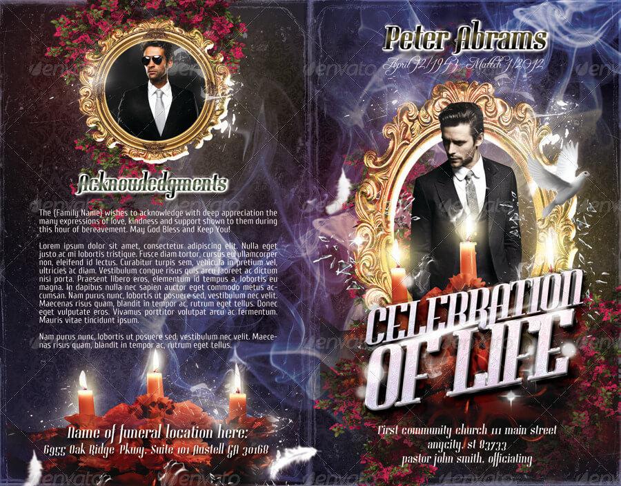 Funeral Program Brochure Template 03 (1)