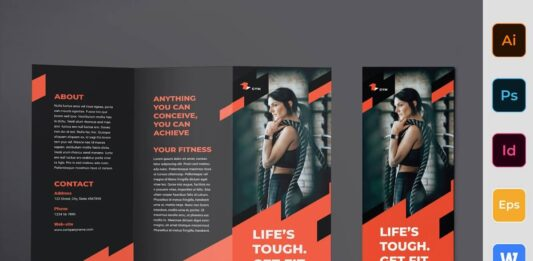 Gym Training Brochure Trifold (1)