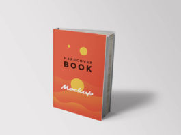 Free beautiful Hardcover Book Mockups Template