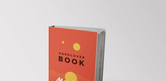 Free beautiful Hardcover Book Mockups Template