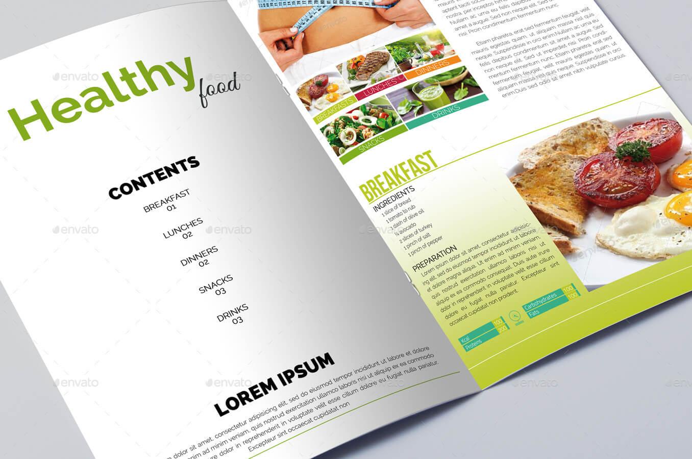 Healthy Diet Food Brochure Template (1)