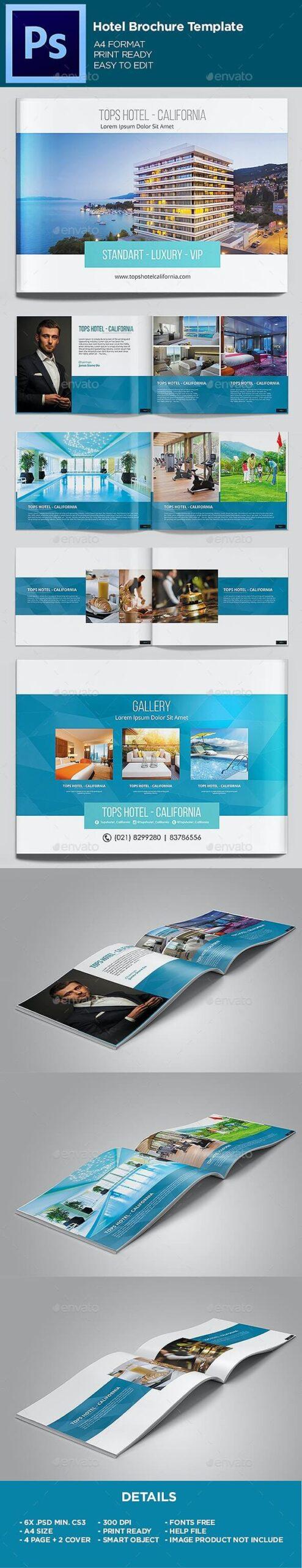 Hotel - Brochure Template