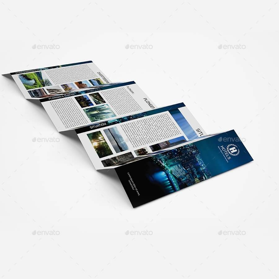 Hotels - Brochure Templates