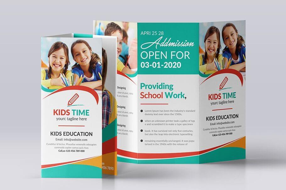Junior School Trifold & Brochure