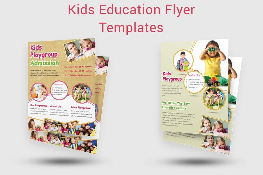 Kids Education Flyer Templates (1)