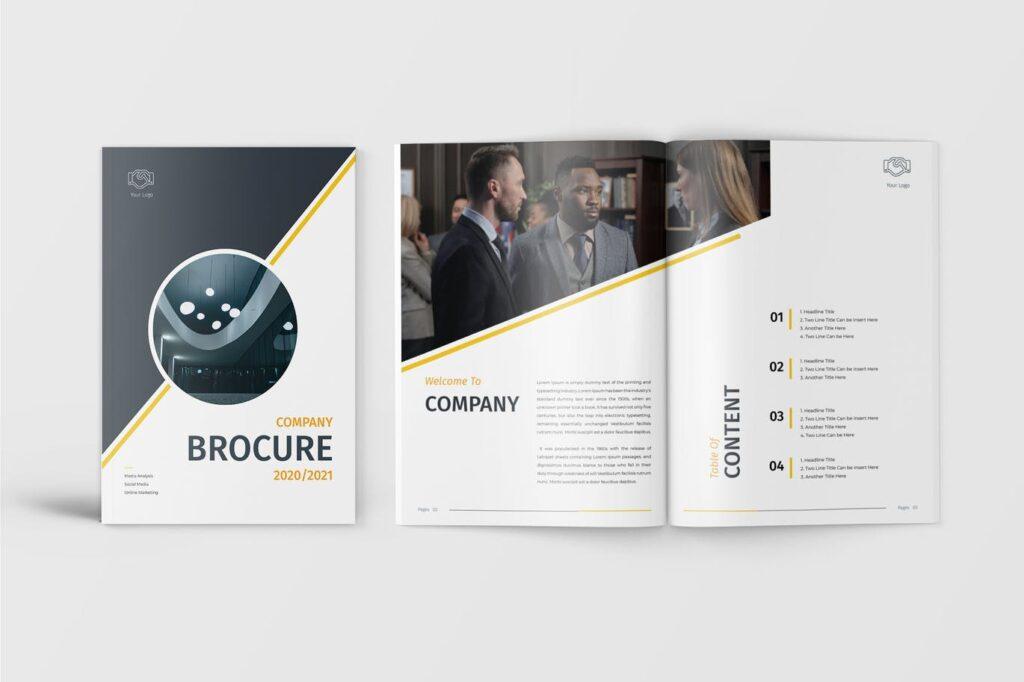 Lio - Company Brochure Template