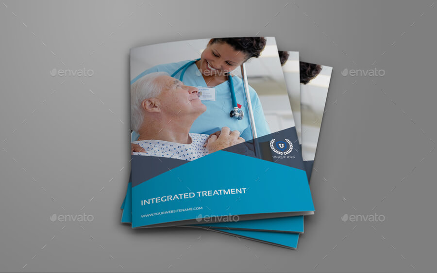 Medical Care Bi-Fold Brochure Template (1)