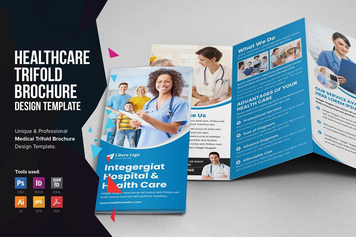 Medical Healthcare Trifold Brochure (2)
