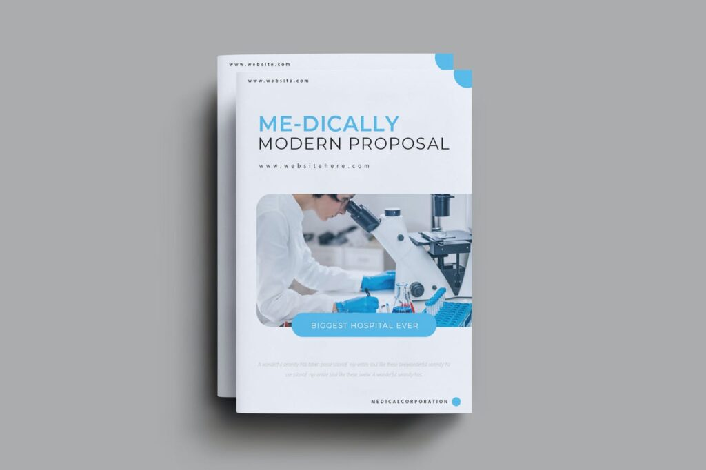 Medically Brochure Template