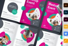 Meetup Event Brochure Bifold