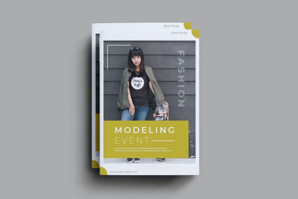 Modeling Event Brochure Template