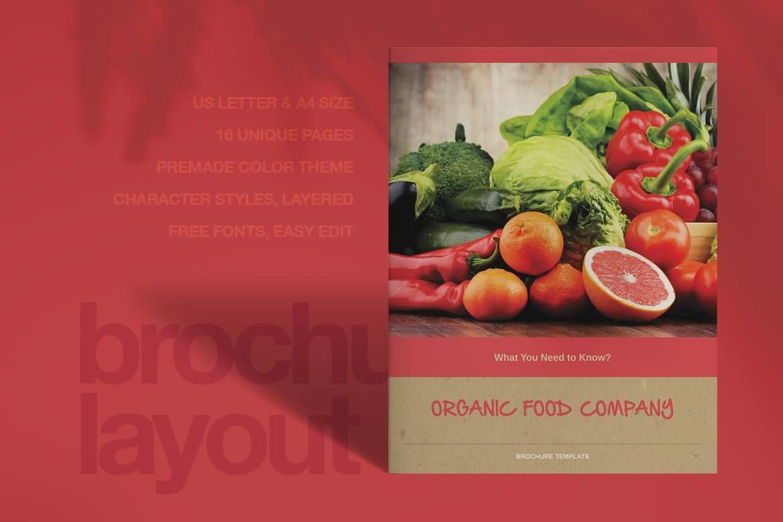 Organic Food Brochure (1)
