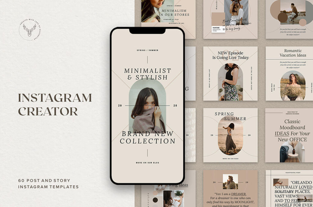 FREE INSTAGRAM POST MOCKUP TEMPLATES