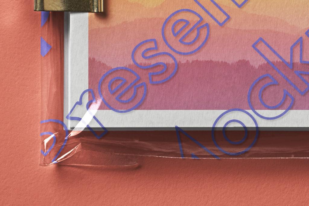 Postcard Mockup Presentation PSD Template3