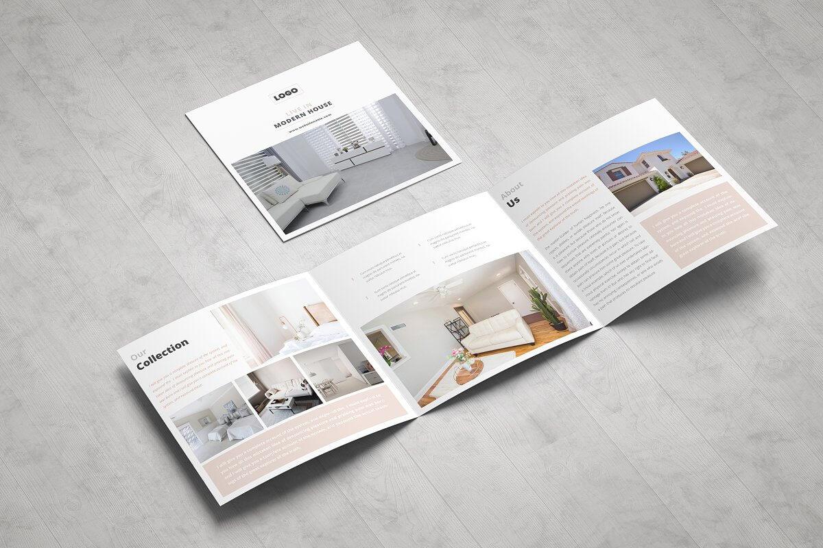 Real Estate Square Trifold Brochure (1)