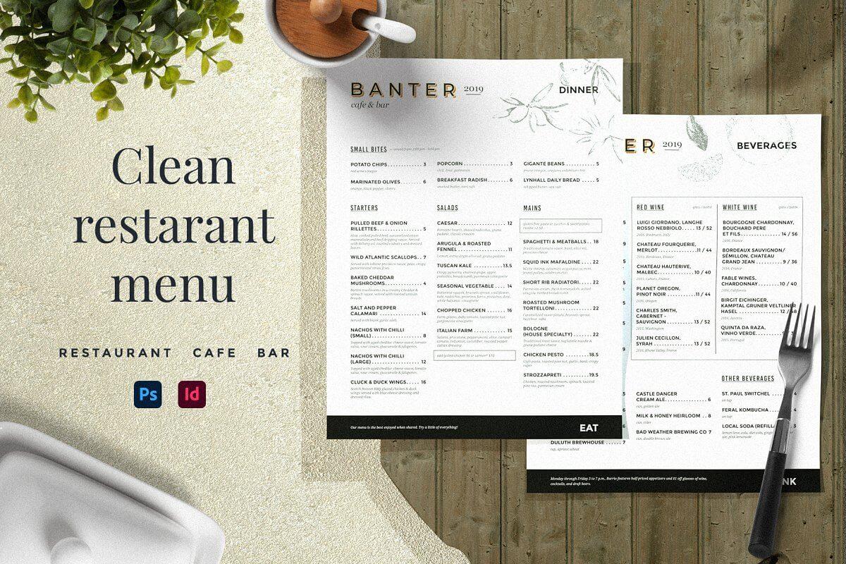Restaurant Menu Indesign Brochure Template (1) (1)