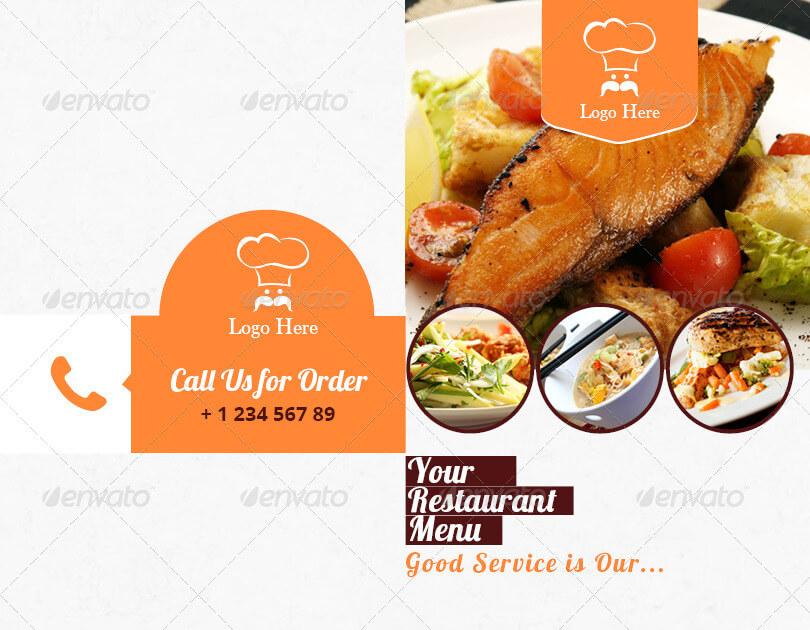 Restaurant Menu Indesign Brochure Template (1)