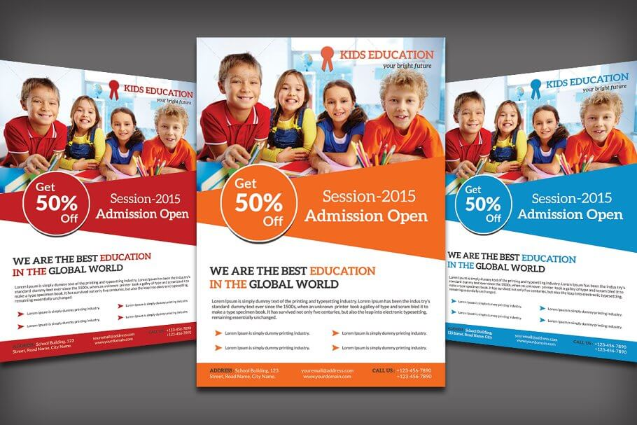 School Education Flyer (1)