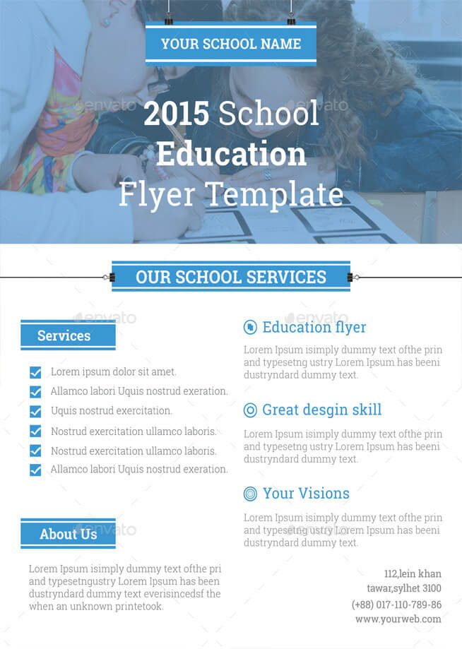 School Education Flyer Template (1)
