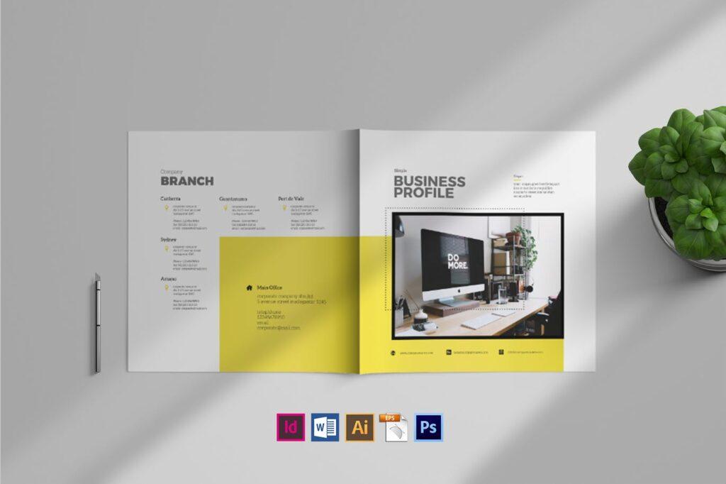 Simple Brochure Template