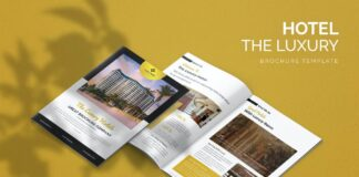 The Luxury Hotel - Brochure Template